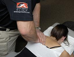 Massage Therapy - Action Sports Clinic