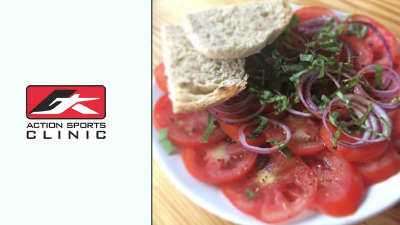 Marinated Basil and Tomato Salad