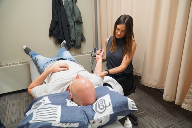 Physiotherapy Treatment At Action Sports Clinic